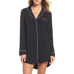 Women's Nordstrom Lingerie Moonlight Nightshirt, Size X-Large - Black found on Bargain Bro Philippines from Nordstrom for $49.00