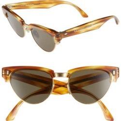 2aaaededba Women s Celine 51Mm Modified Cat Eye Sunglasses - Strpd Hny Havana  Mnrl  Lens found on