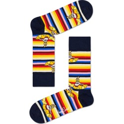 Men's Happy Socks Beatles All On Board Socks, Size One Size - Yellow found on MODAPINS from Nordstrom for USD $16.00