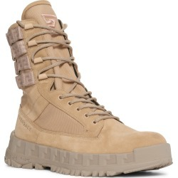 Men's Versace Greca Rhegis Combat Boot, Size 11US - Beige found on MODAPINS from Nordstrom for USD $1125.00