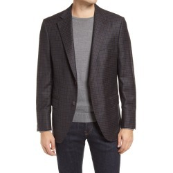 Men's Peter Millar Hyperlight Wool & Cashmere Sport Coat, Size 40 Short - Brown found on MODAPINS from Nordstrom for USD $372.50