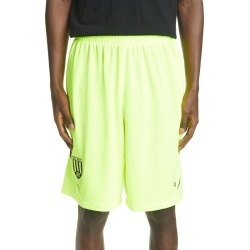 Men's Balenciaga Mesh Jersey Soccer Shorts, Size Medium - Yellow found on MODAPINS from Nordstrom for USD $850.00