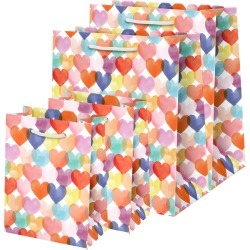 Paper Source 4-Pack Valentine Gift Bags - White found on Bargain Bro from Nordstrom for USD $11.36
