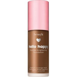 Benefit Hello Happy Flawless Brightening Foundation Spf 15, Size 1 oz - Shade 12- Dark Warm found on MODAPINS from LinkShare USA for USD $30.00
