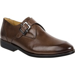 Men's Sandro Moscoloni Wendell Single Buckle Monk Shoe, Size 10.5 D - Brown found on Bargain Bro from Nordstrom for USD $129.20
