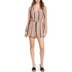 Women's Leith Shawl Collar Romper, Size X-Small - Coral found on Bargain Bro India from Nordstrom for $38.98