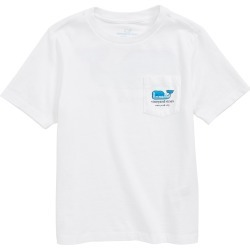 Toddler Boy's Vineyard Vines New York City Whale Pocket T-Shirt, Size 3T - White found on Bargain Bro India from Nordstrom for $26.50