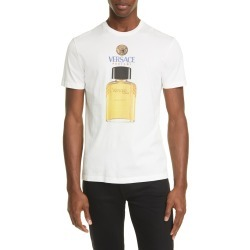 Men's Versace Profumi Graphic Tee, Size Large - White found on MODAPINS from Nordstrom for USD $525.00