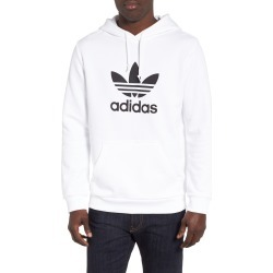 Men's Adidas Originals Trefoil Hoodie, Size X-Large - White found on MODAPINS from Nordstrom for USD $65.00
