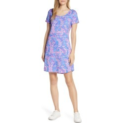 Women's Lilly Pulitzer Tammy Upf 50+ T-Shirt Dress, Size X-Small - Blue found on Bargain Bro India from Nordstrom for $76.80