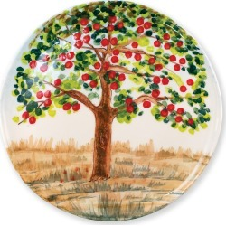 Vietri Apple Tree Wall Plate found on Bargain Bro India from LinkShare USA for $156.00