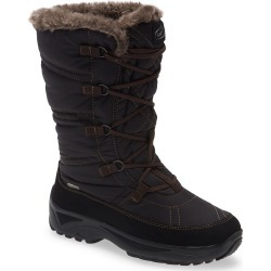 Women's Naot Vail Lace-Up Waterproof Snow Boot, Size 5US - Black found on MODAPINS from Nordstrom for USD $249.95