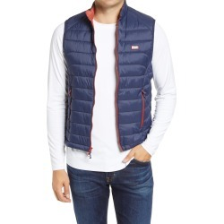Men's Johnnie-O Hudson Classic Quilted Nylon Vest, Size Small - Burgundy found on MODAPINS from Nordstrom for USD $128.00