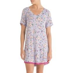 Womens Honeydew Intimates All American Sleep Shirt Size Small Purple