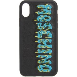 Moschino Logo Iphone X & Xs Max Case - Black found on MODAPINS from Nordstrom for USD $85.00