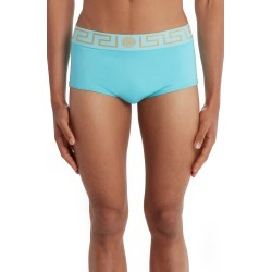 Men's Versace Greca Band Swim Briefs, Size 7 - Blue found on MODAPINS from Nordstrom for USD $225.00