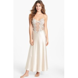 Women's Flora Nikrooz Showstopper Nightgown, Size X-Small - Ivory found on MODAPINS from Nordstrom for USD $135.00