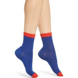 Women's Hysteria By Happy Socks Lotta Ankle Socks, Size 9/11 - Blue found on MODAPINS from Nordstrom for USD $18.00