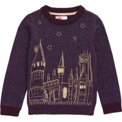 Toddler Girl's Mini Boden Harry Potter Hogwarts Sweater, Size 2-3Y - Purple found on Bargain Bro Philippines from Nordstrom for $60.00