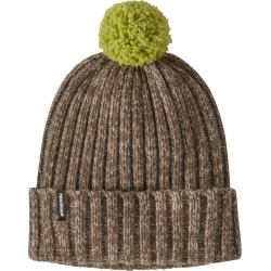 Women's Patagonia Pompom Wool Blend Beanie - Grey found on Bargain Bro from Nordstrom for USD $37.24