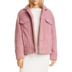 Women's Vince Teddy Jacket, Size XX-Small - Pink found on Bargain Bro Philippines from LinkShare USA for $118.48