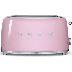 Smeg 50S Retro Style Four-Slice Toaster, Size One Size - Pink found on Bargain Bro India from LinkShare USA for $219.95