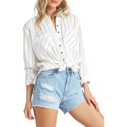 Women's Billabong Easy Movin Tie Front Shirt
