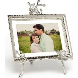 Michael Aram White Orchid Easel Picture Frame