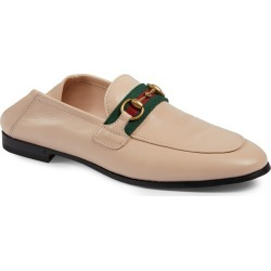 Women's Gucci Brixton Horsebit & Web Convertible Loafer, Size 6.5US - Ivory found on MODAPINS from Nordstrom for USD $790.00