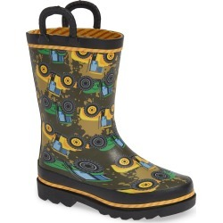Toddler Boy's Western Chief Tractor Tough Waterproof Rain Boot, Size 5 M - Green found on Bargain Bro Philippines from Nordstrom for $29.95