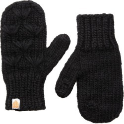 Women's Sh*t That I Knit The Motley Merino Wool Mittens, Size One Size - Black found on Bargain Bro from Nordstrom for USD $60.80