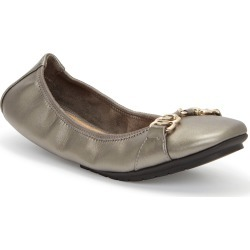 Women's Me Too Olympia Skimmer Flat, Size 6 M - Metallic found on Bargain Bro Philippines from Nordstrom for $79.95