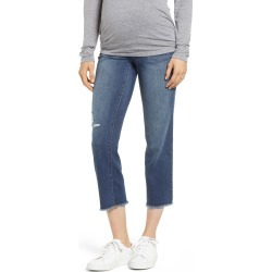 Women's 1822 Denim Cassie Crop Straight Leg Maternity Jeans found on MODAPINS from Nordstrom for USD $59.00