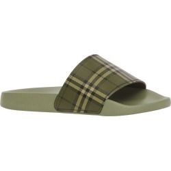 Women's Burberry Furley Slide Sandal, Size 7US - Green found on Bargain Bro India from Nordstrom for $320.00