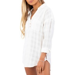 Women's Rip Curl Cabana Beach Shirt, Size X-Small - White found on MODAPINS from Nordstrom for USD $49.95