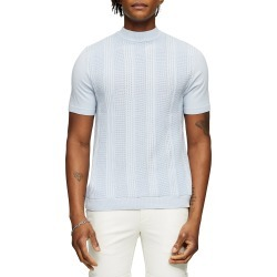 Men's Topman Mock Neck Short Sleeve Sweater found on MODAPINS from Nordstrom for USD $40.00