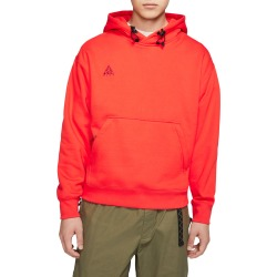 Men's Nike Acg Men's Pullover Hoodie, Size Large - Red