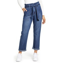 Women's Dickies Paperbag Waist Jeans, Size 7 - Blue found on Bargain Bro India from LinkShare USA for $60.00