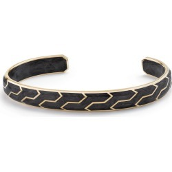 Men's David Yurman Forged Carbon Cuff With 18K Gold found on Bargain Bro India from Nordstrom for $2700.00