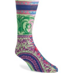 Men's Versace Baroque Socks, Size Large - Blue found on MODAPINS from Nordstrom for USD $250.00