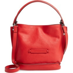 Longchamp 3D Leather Crossbody Hobo - Red found on Bargain Bro Philippines from Nordstrom for $670.00