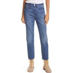 Women's Rag & Bone Maya High Waist Nonstretch Ankle Slim Jeans, Size 29 - Blue found on MODAPINS from Nordstrom for USD $255.00