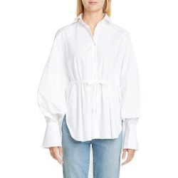Women's Palmer/harding Streep Belted High/low Shirt