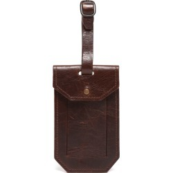 Moore & Giles Leather Luggage Tag - Brown found on Bargain Bro India from Nordstrom for $40.00