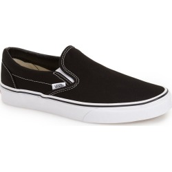 Vans Classic Slip-On, Size 13.5 Women's - Black found on Bargain Bro India from Nordstrom for $49.95