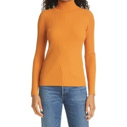 Women's Tory Burch Ribbed Turtleneck, Size X-Small - Orange found on MODAPINS from Nordstrom for USD $298.00