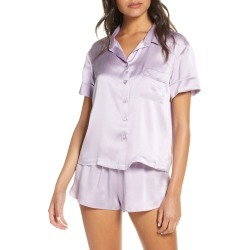 Women's Papinelle Short Silk Pajamas found on MODAPINS from Nordstrom for USD $100.98