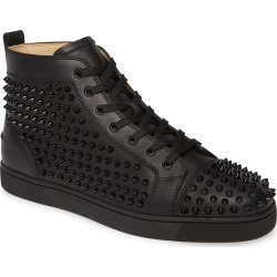 Men's Christian Louboutin Louis Allover Spikes High Top Sneaker, Size 11US / 44EU - Black found on Bargain Bro Philippines from Nordstrom for $1295.00