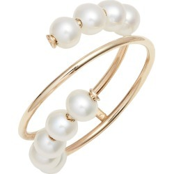 Women's Poppy Finch Pearl Spiral Ring