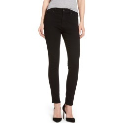 Women's Ag Farrah High Waist Ankle Skinny Jeans, Size 33 - Black (Super Black) (Nordstrom Exclusive) found on Bargain Bro Philippines from LinkShare USA for $188.00